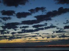 le ciel ( j'était aux bort de la mer )
