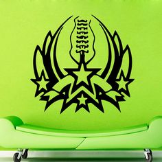 WALL ART STICKER VINYL DECAL MURAL FIRE SYMBOLISM SPORTS LOGO DA2309 #Fashion #MuralArtDecals