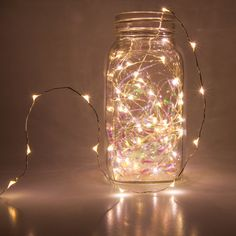 Illuminate anything, anywhere with stunning fairy lights! Create DIY centerpiece decor, shimmering bedroom lights or wrap greenery with fairy lights. These super bright LED light strings plug in or run on batteries, allowing for endless design possibilities!