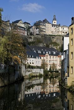 Luxembourg, a landlocked country in Western Europe.