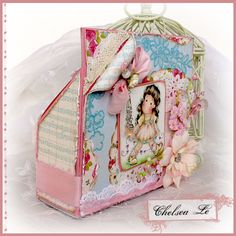 Crafting Life's Pieces: Martha Stewart Altered Packaging - Magnolia Card