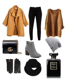 """""""Winter OOTD"""" by mei-mei-1 on Polyvore featuring Ted Baker, Gucci, The North Face and prAna"""