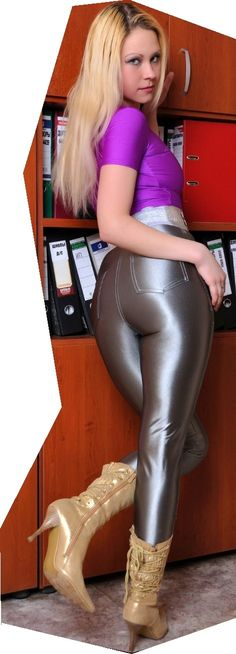 Ass in disco pants