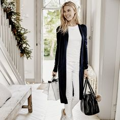 Boiled Wool Pocket Jacket | The White Company. Shopping from the