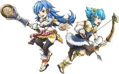 Final Fantasy Crystal Chronicles: Echoes of Time Selkies.