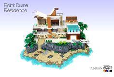 Lego Mansion, Lego Furniture, Amazing Lego Creations, Lego Moc, Lego Lego, Lego Design, Lego Projects, Custom Lego, Lego Friends