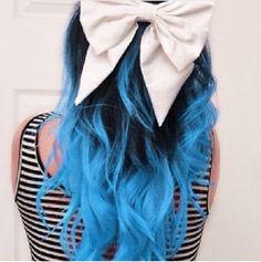 Puntas azules