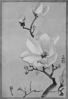From the free e-book On the Laws of Japanese Painting by Henry P. Bowie, published in 1911 and found at http://www.gutenberg.org/files/35580/35580-h/35580-h.html .  It contains many good examples.