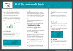 research poster powerpoint template