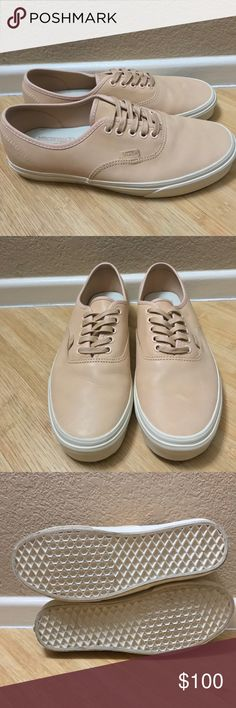8413d49e06 Shop Men s Vans size 9 Sneakers at a discounted price at Poshmark.  Description  (veggie tan leather) tan brand new never worn.