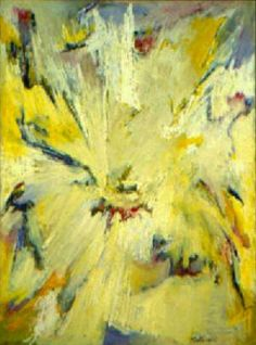 Albert Kotin: Phoenix , 1957 Oil on canvas, 57 x 36 inches. Exhibited:  Grand Central Modern, 1958;  Tanager Gallery, 1959