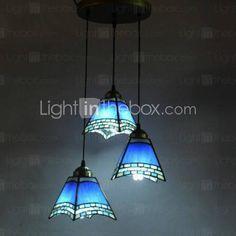 Lámpara Chandelier con 3 Bombillas - WINONA