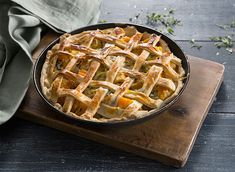 It looks great, and tastes even better! Our butternut squash, leek and ricotta lattice pie recipe is packed with flavour. Made with Jus-Rol shortcrust pastry.