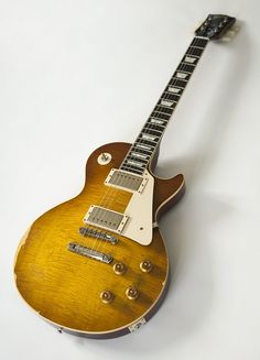 """Gibson.com: Collector's Choice™ #8 1959 Les Paul """"The Beast""""  Relic copy"""