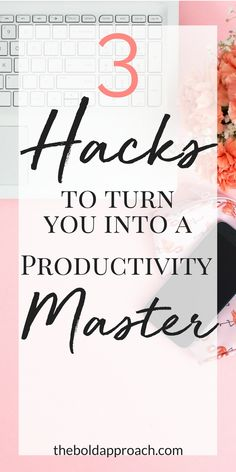 LOVE THIS!! Boost your productivity to the MAX in these three simple steps. Learn how these three simple hacks can boost your productivity, including productivity strategies, productivity hacks, priorities, organization, planning, and more.