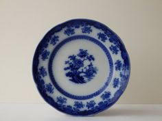 Hey, I found this really awesome Etsy listing at https://www.etsy.com/listing/182188889/antique-wedgewood-plate-flow-blue-plate