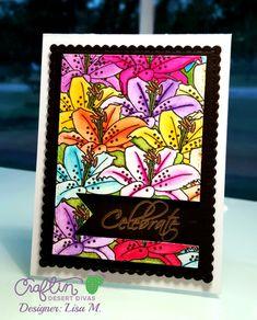 Botanical Layers|Stamp Set|Craftin Desert Divas|$18.99