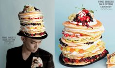 Fake Sweets Collection 2013 Spring   Pancake Hat omg i neeed this