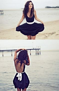 if you are going to do a black dress, this is fab inspiration