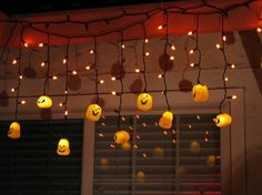 guirlande lumineuse halloween citrouille déco espace