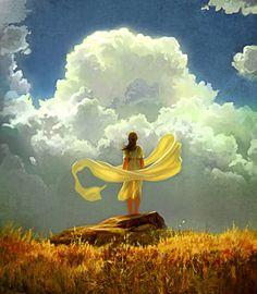 """""""The Wind"""" ~ by *RHADS -- http://rhads.deviantart.com"""
