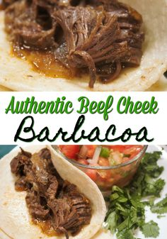 This recipe for beef cheek barbacoa has been passed down from generations.