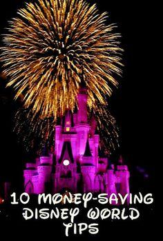 10 money-saving Disney World tips