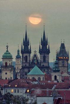 Medieval, Prague, Czech Republic photo via samantha