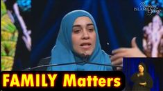 Islamic Lectures of Yasmin Mogahed, Mufti Ismail Menk, Islamic Speakers: Bridging the Gap in terms of Family - Yasmin Mogah. Family Matters, Gap, Speakers, Islamic, Youtube, Reading, Music Speakers, Youtube Movies, Loudspeaker