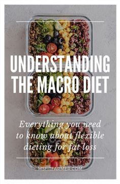 The Complete Guide to the Macro Diet. This post is designed to help women understand the importance of macro tracking for fat loss. You& also find helpful tips on how to properly calculate and count macros for best weight loss results! Weight Loss Meals, Diet Plans To Lose Weight, How To Lose Weight Fast, Losing Weight, Weight Gain, Lose Fat, Body Weight, Low Fat Diets, Easy Diets