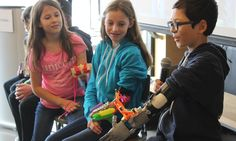 3D printing and design expertise enabled six children with upper-limb differences to build prosthetics that gave them superpowers