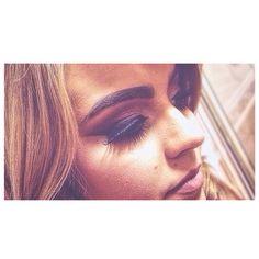 Makeup mua blonde beauty hair hairstyles winged eyeliner smokey eye ball dance motd motn