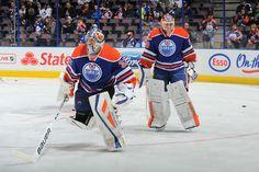 Ben Scrivens, Richar Bachman Edmonton Oilers 2014/15