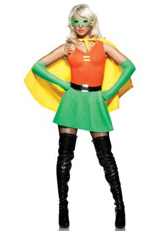 Side Kick Superhero Costume  sc 1 st  Pinterest & Robin costume | Pinterest | Female robin Robin costume and ...