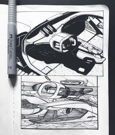 Inktober day proper black and white inking this time – Interior Design Car Interior Sketch, Car Interior Design, Interior Design Sketches, Industrial Design Sketch, Car Design Sketch, Interior Rendering, Interior Concept, Car Sketch, Automotive Design