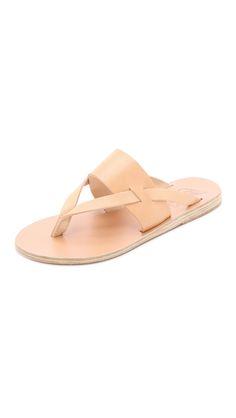 Ancient Greek Sandals Zenobia Sandals - Natural | SHOPBOP.COM saved by #ShoppingIS