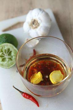 sauce vinaigrette aux saveurs asiatiques inspiration Jamie Oliver 02