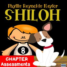 There are 8 chapter assessments to easily check for comprehension and understanding of the novel Shiloh, by Phyllis Reynolds Naylor. Answer keys provided for each of the 8 assessments.