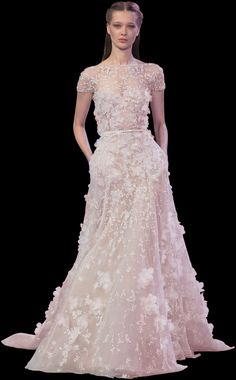 ELIE SAAB - Haute Couture - Spring Summer 2014 This is MY fantasy Oscar dress! What's yours?