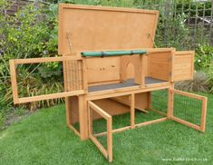 Highgrove Hutch with Run - - Highgrove Hutch with Run Pet bunny Highgrove Hutch mit Run Rabbit Hutch Indoor, Large Rabbit Hutch, Rabbit Hutches, Bunny Cages, Rabbit Cages, Backyard Chicken Coop Plans, Chickens Backyard, Rabbit Hutch Covers, Mini Rex Rabbit