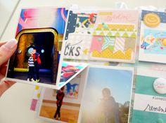 catching up! @kimjeffress @heidiswapp July Memory planner pages #heidiswapp #heidiswapphellotoday # DIY