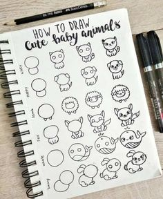 Bullet Journal Doodles: 20 Amazing Doodle Ideas For Beginners & Beyond! - Meraadi