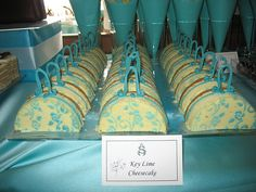 Mothers Day Sweet Table, Cheesecake Purses