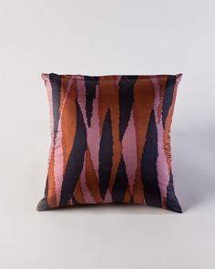 The Abstract Silk Pillow by HomeMint.com, $59.99
