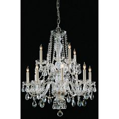 Crystorama Maria Theresa Collection 12-light Chandelier