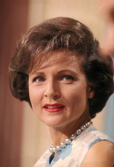 Betty White (1922-) American actress, singer, author and tv personality