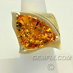 American Made Fine Jewelry  Citrine by Gemfix, Designed by Ming San Diego, California $4795