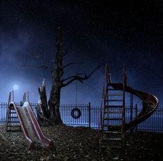 Playground III -Night Time- by Caras Ionut