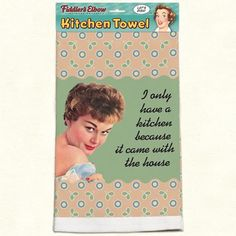 Kitchen Towel with Hanging Loop Funny Kitchen Towel with Quote Ill Just Have to Be A Terrible Warning 100/% Cotton Eco-Friendly Dish Towel Fiddlers Elbow If I Cant Be A Good Example