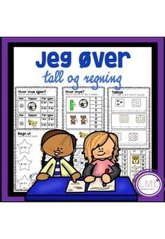 Jeg øver - tall og regning Education, Comics, School, Cartoons, Onderwijs, Learning, Comic, Comics And Cartoons, Comic Books